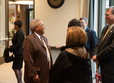 Reception to honor state representative Bill Crawford. Event held in the new banquet center.