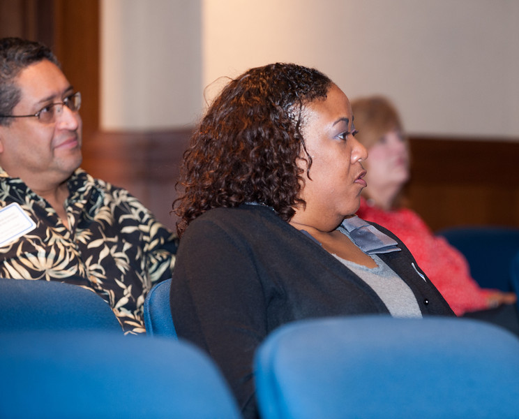 Counselor Day on campus with opening by Tonya Balch, Bayh College of Education dean Brad Balch