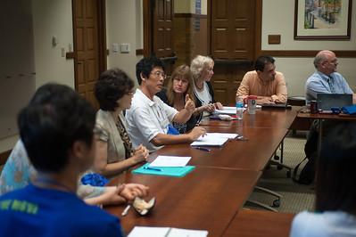 Delegation from Hanil University visits for mental health workshop