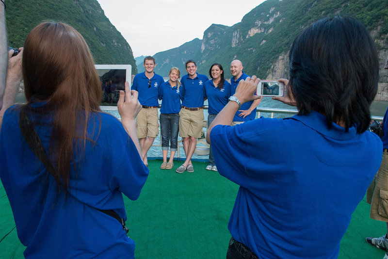 Three Gorges cruise
