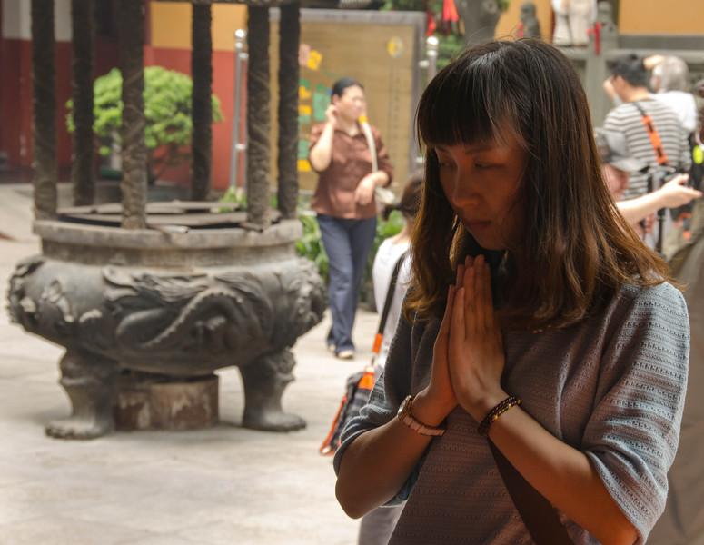 Shanghai, Pudong District, Jade Buddha Temple