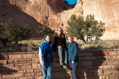 A group of Honors students travelled to Pinon, Arizona as part of the Indiana State Cross Culture Excursion program.