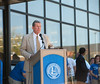 John W. Moore Welcome Center dedication ceremony :