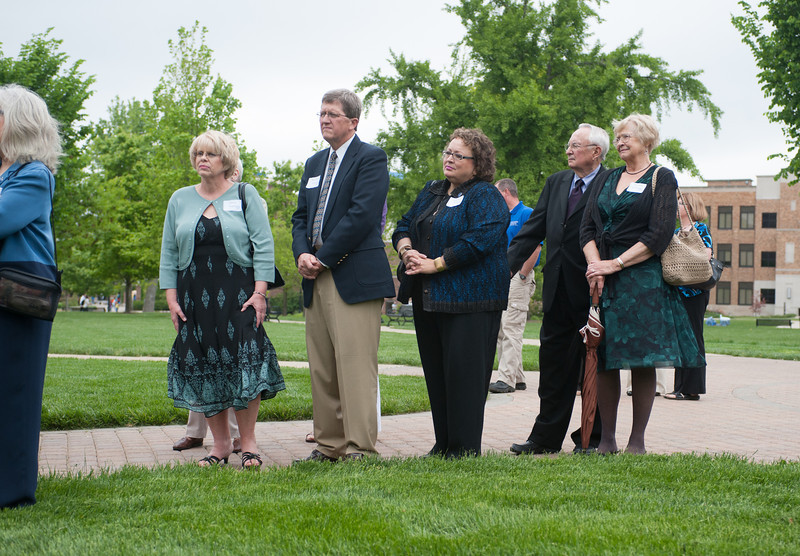 Dedication Ceremony of the Richard G. Landini Center for Performing and Fine Arts.