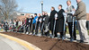 North Residence Hall groundbreaking :