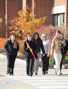 Groundbreaking ceremony for North Residence Hall