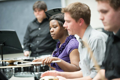 Steel Band and Percussion Ensemble performance in CPFA