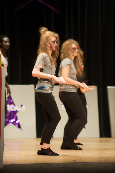 Student athlete talent show 2012 with theme Hollywood in the Haute