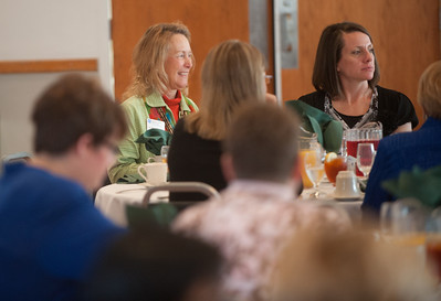 Women of ISU gathering and luncheon in Heritage Ballroom