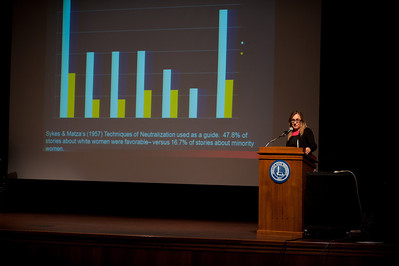 Criminology Conference 2013, held in the University Hall auditorium.