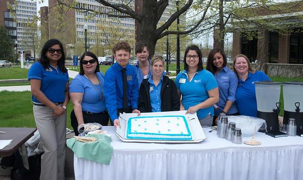Service Has a Color - It's Blue