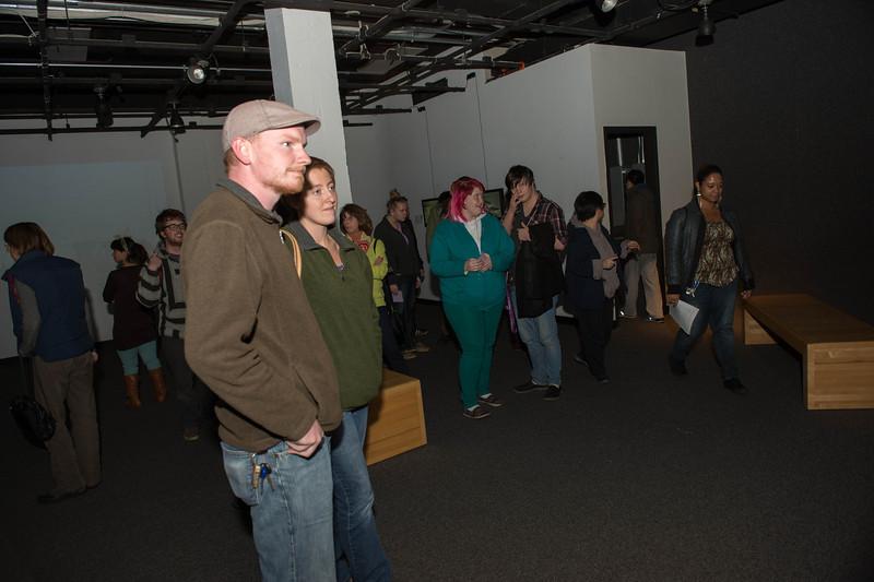 October 24, 2013 digital art exhibit opening 4838