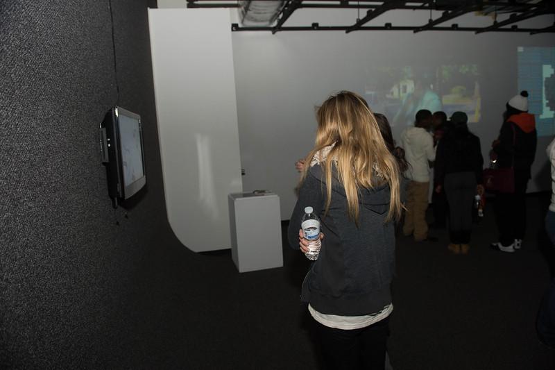 October 24, 2013 digital art exhibit opening 4834