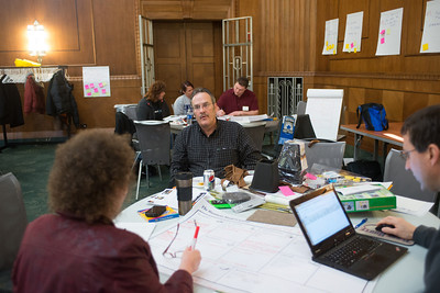 Terre Haute Startup Weekend, which is an entrepreneurial business competition where people will pitch ideas and work on them before a winner is determined Sunday