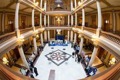 ISU honored at Indiana Statehouse