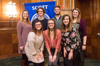 scott college of business admission ceremony