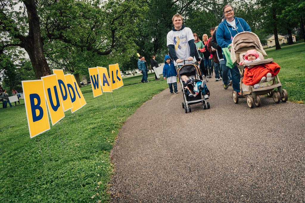 Business students assist Buddy Walk® planning