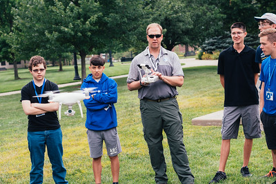 Unmanned systems students team up with public safety officials