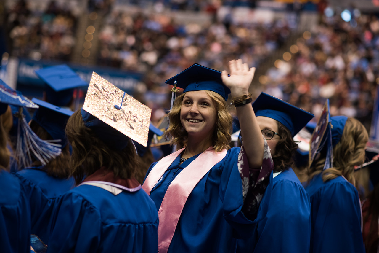 More than 900 Sycamores participate in winter commencement