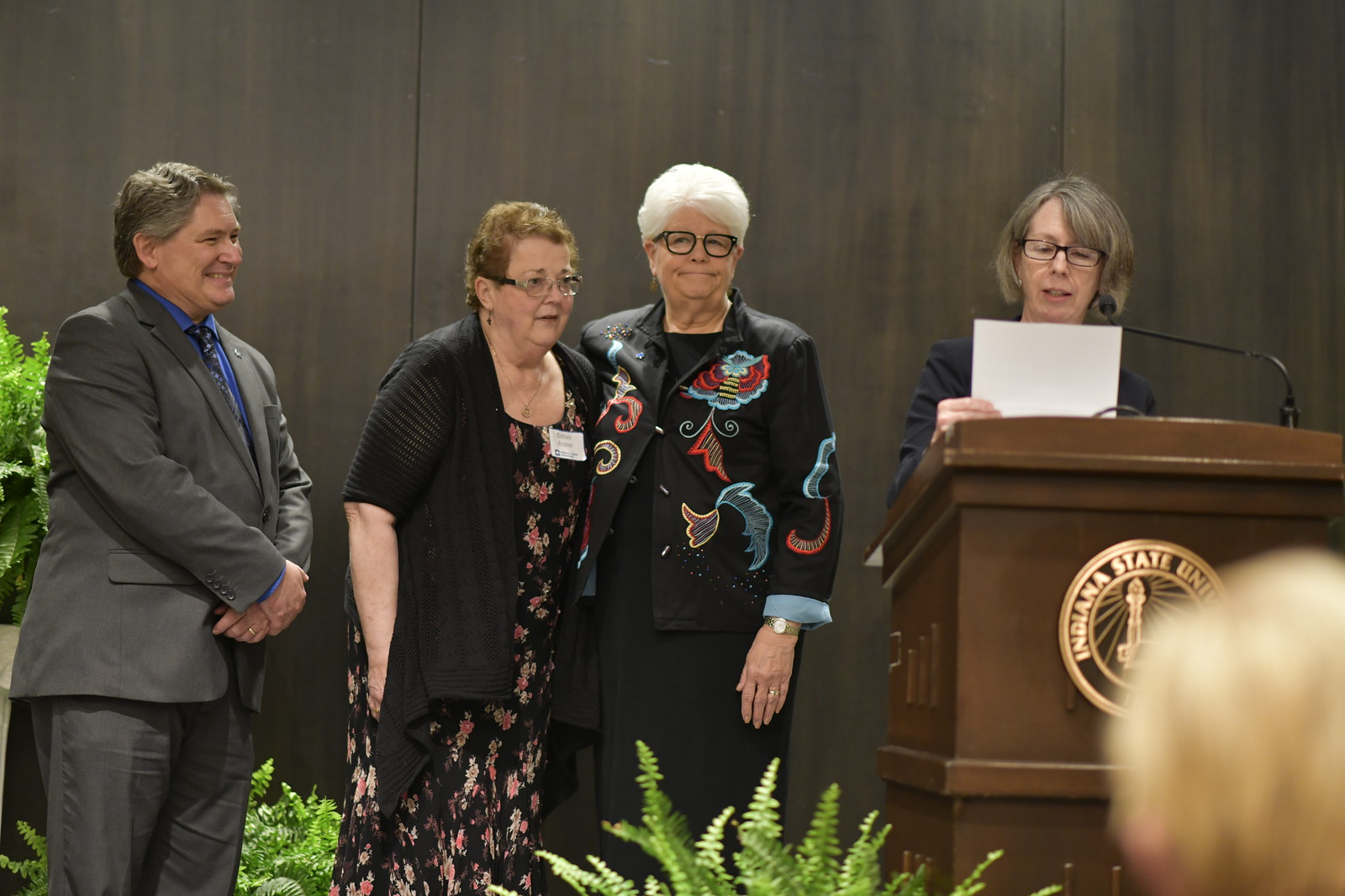 Acree receives President's Medal; other faculty honored