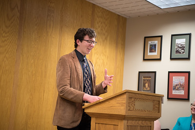 DSC_6025 Pfennig Scholarship Award Ceremony, 2019 April 30, 2019