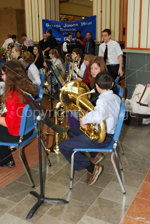 Shaker Band and Chorus Performance at Colonie Center