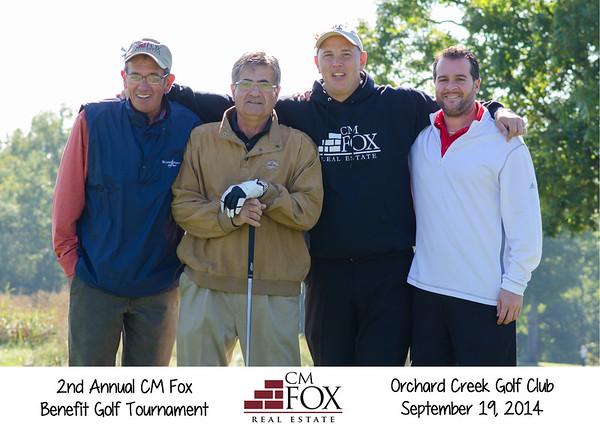 CM Fox Benefit Golf Tournament 2014