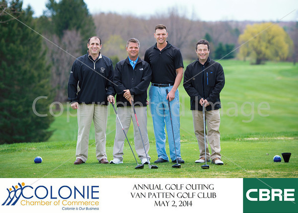 Colonie Chamber of Commerce Golf Outing 2014