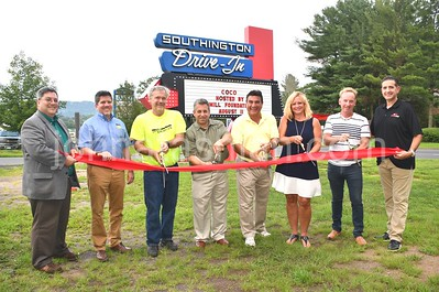 Southington Drive-In Ribbon Cutting Ceremony