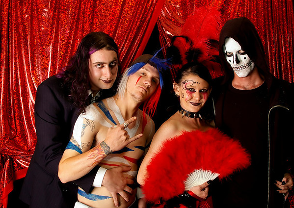 Images from the Spank Fetish Ball - Circus Berserk, Feb 2009 in Perth Western Australia