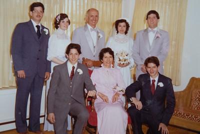 Jeannine & Pete's Wedding 5/12/82