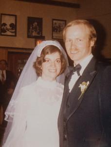 Rosanne & John's Wedding 1978