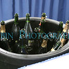Champaign chilled and waiting for the toasting to soon take place.