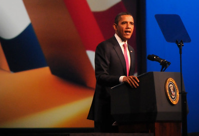 Former U.S. President Barack Obama at AIPAC Policy Conference 2012
