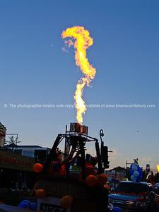 Balloohs over waikato, parade, Balloons over Waikato, New Zealand, 2010.