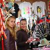 Larisa & Oksana at shop