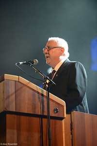 Israeli President, Reuven (Ruby) Rivlin Speaking at a Ceremony in Tel Aviv -2014