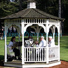 Musicians in a Gazebo. This is from the 2006 graduation ceremony at the Tufts Cummings School of Veterinary Medicine in Grafton, MA.