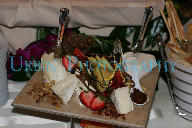 An example of Wedding Reception finger food.