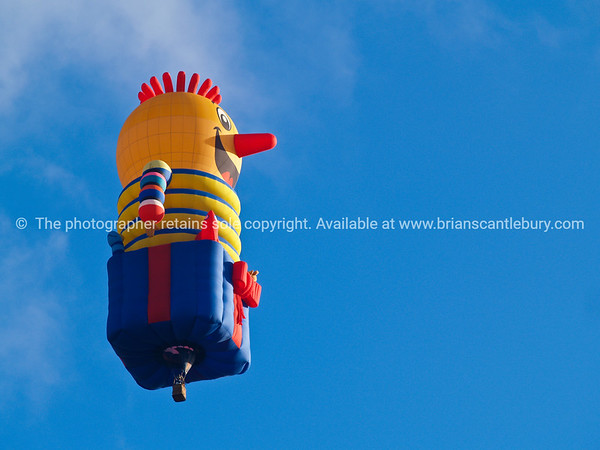 Jack in box, flying high, Balloons over Waikato, New Zealand, 2010.