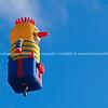 Jack in box, flying high, Balloons over Waikato, New Zealand, 2010.