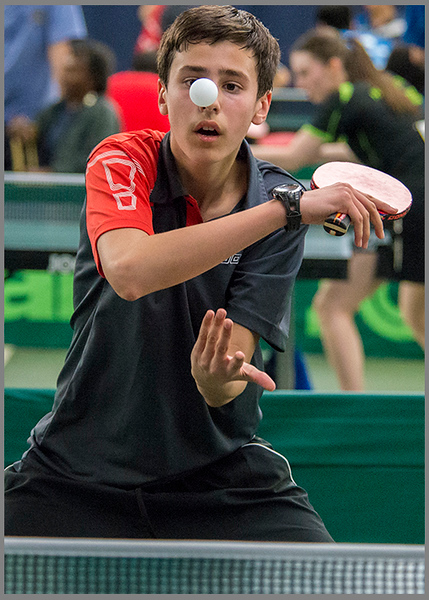 Table Tennis Grand Prix, England
