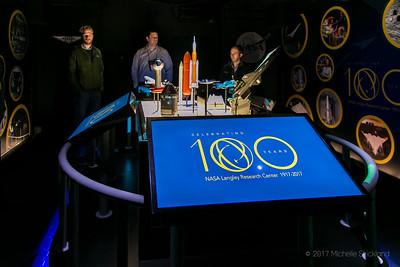 NASA Celebrating 100 Years - Exhibit