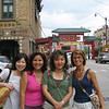 From L to R Mayuko, Mary, Yeon and me in chinatown / Chicago