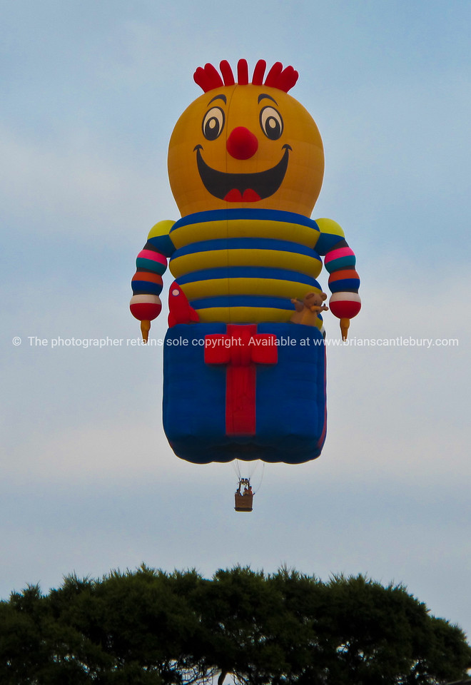 Jack-in-box, hot air balloon at Balloons over waikato, 2010.