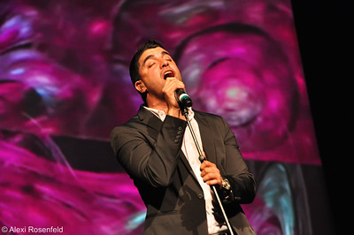 Moshe Peretz Performing at a Fundraising Concert in Los Angeles 2011