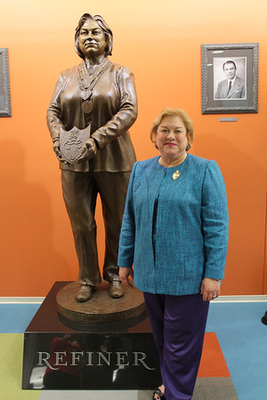 "Dedication of Vickie Anne Palmer ""The Refiner"" Statue"
