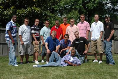 Everett Thomas HS Graduation Open House, May 21, 2006