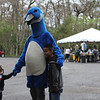<b>The Blue Goose Makes Friends</b>  Everglades Day, February 11, 2012