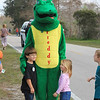 <b>The Green Gator Makes Friends</b>  Everglades Day, February 11, 2012